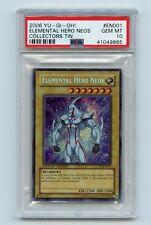 Yu-Gi-Oh! Collector Tin Elemental Hero Neos Secret Rare CT03-EN001 PSA 10