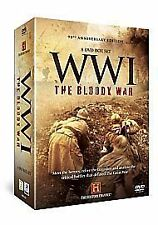 WWI - The Bloody War (DVD, 2008, 8-Disc Set, Box Set) History Channel.