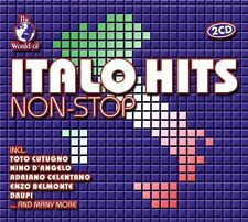 World of Italo Hits non-stop Toto Cutogno, Riccardo Fogli, Nino D'Angel.. [2 CD]