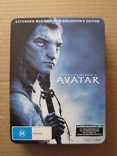 AVATAR RARE DVD BLU-RAY COLLECTOR'S EDITION TIN AUSTRALIAN