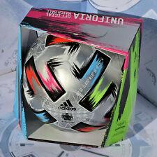 Pallone Adidas UNIFORIA FINALE NUOVO con box originale UEFA EUROPEI calcio 2020