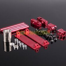 Aluminum RC 1/10 Drift Car Shell Strong Magnet Stealth Body Post DIY RED 188837