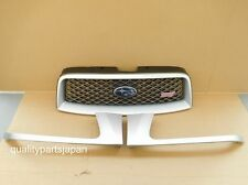 SUBARU FORESTER SG FRONT GRILL WITH HEADLIGHT TRIMS STI GRILLE JDM OPTION SILVER