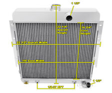 1963 - 66 Dodge Dart 3 Row All Aluminum Champion DR Radiator (6 Cylinder)