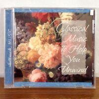 Hallmark Classical Music to Help you Unwind CD Album 1997 playgraded M-