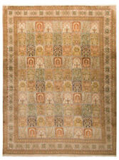 Tapis rectangulaire indien avec des motifs Carreaux pour la maison