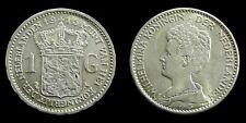 Netherlands - 1 Gulden 1915 Prachtig+