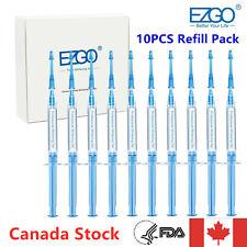 EZGO 10pc 3ml Professional Teeth Whitening Gels Kit Refill Pack 44%