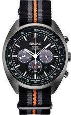 New Seiko SSC671 Men's Recraft Series Solar Nylon Strap Chronograph Watch SSC669