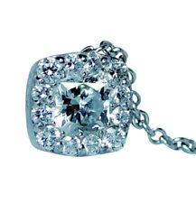 Hearts on Fire 18K White Gold Dream cut Diamond Necklace Estate