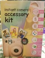 Digipower Instant Camera Accessory Kit for Pink Fujifilm Instax(No photo album)