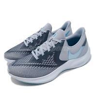 Nike Zoom Winflo 6 Obsidian Mist Blue Lagoon Men Running Shoe Sneaker AQ7497-400