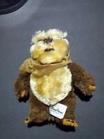 "Disney Parks Star Wars Ewok 10"" Plush Stuffed Animal Wicket Warrick Small"