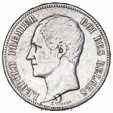 5 francs 1849 Léopold Premier Belgique - Argent