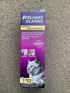 Feliway Classic Pheromone Spray for Cats Anxiety Relief Stress 60  ml