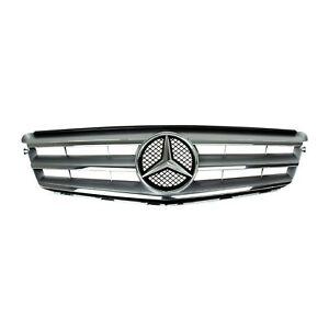 Oirg Mercedes Benz C Klasse Avantgarde Kühlergrill Kühler Grill brillantsilber