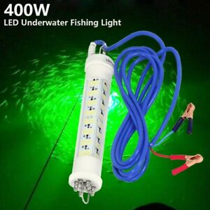 Green LED Fishing Lights 12V 400W Bright Night Fishing Lights LED Dive Lights