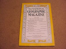 National Geographic July 1946 Seals of Our Nation, State & Territories SPAM Ads