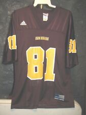 Arizona State Sun Devils Adidas Burgundy #81 Medium Football Jersey