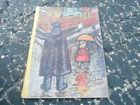 OCT 10 1953 vintage NEW YORKER magazine RAINY DAY CROSSWALK