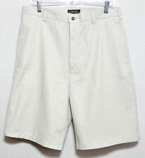 New+Tags Adventure Bound Clipper Men's Stone Cotton Pleated Shorts - Sz 34