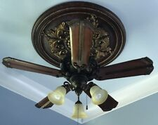 Craftmade ceiling fans ebay craftmade toscana peruvian 44 56 5 blade ceiling fan uplight included mozeypictures Choice Image