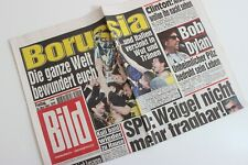 BILDzeitung 30.05.1997 Mai 30.5.1997 Champions League BVB Borussia Dortmund