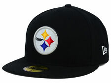 NWT New Pittsburgh Steelers New Era 59Fifty OnField Size 7 1/2  Fitted Hat Cap