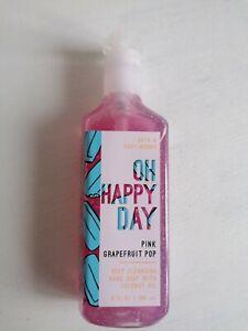 Bath & Body Works - Oh Happy Day Pink Grapefruit Pop, 236ml.