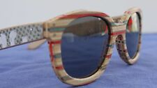 SK8 SHADES - sunglasses made from  recycled wooden skate boards. (STYLE 430)NWOT