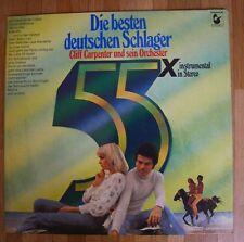 CLIFF CARPENTER & SEIN ORCHESTER Die besten deutschen Schlager 2-LP/GER/FOC
