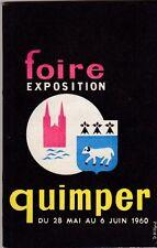 FOIRE EXPOSITION QUIMPER 1960    bretagne finistere