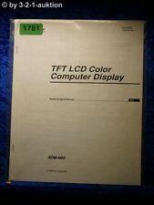 Sony manual de instrucciones SDM n50 equipo Display (#1781)