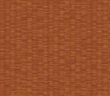 Kathy Ireland Reddish Brown Faux Wicker / Rattan Easy Walls Wallpaper Nl58244
