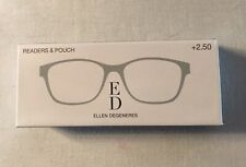 ED Ellen Degeneres Readers & Pouch - Mint Green +2.50 New!