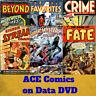 ACE comics - 431 PDF E-Comics on 2 Data DVD's - Horror Adventure Crime Action