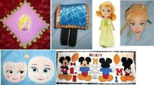 Disney AMBER Plush Doll / Horse Saddle / Anna Just Play Head / Rapunzel PILLOW