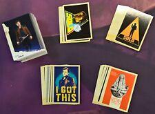 2018 Topps Solo: Star Wars Story MINI MASTER Set 135 Cards Base + 4 Insert Sets