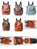 Rucksack Canvas Baumwolle shopper weekender Backpack Stoff Tasche Thailand Thai