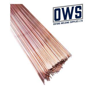 Gas welding rods. Copper coated. Mild steel. 1.6mm 2.4mm 3.2mm CCMS