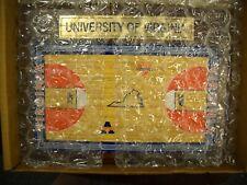 Virginia Cavaliers Hardwood Replica Basketball Court In Original Box