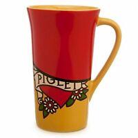 Disney Piglet Winnie the Pooh Mug Coffee Cup Tall Latte 16 oz. Ceramic New !!
