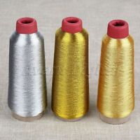 3Colors Computer Cross-stitch Embroidery Thread Line Textile Metallic Yarn Woven