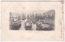 GENOVA CITTÀ 517 PORTO BARCHE Cartolina VIAGGIATA 1902