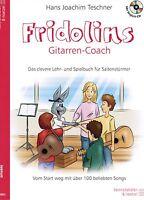 Gitarre Noten Schule : Fridolins Gitarren-Coach m. CD Lehr- und Spielbuch B-WARE