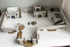 World War 2 Mandertory Miniatures resin 28mm North African Village, Bolt Action