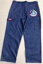 Vintage FUBU Platinum Fat Albert Denim Jeans Mens Size W40 x 32 LikNew!!