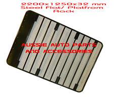 Steel Roof Rack Flat 2200mm for Toyota LandCruiser Prado 120 Series Roof Rack