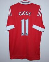 Manchester United England home shirt 15/16 #11 Giggs Adidas BNWT Size L