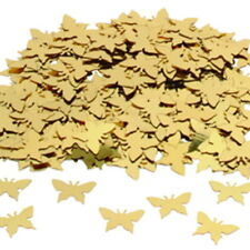 CSC Imports GOLD BUTTERFLY Silhouette Table Confetti 14 Gram Party Sprinkles